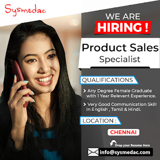 Hiring Product Sales Specialist