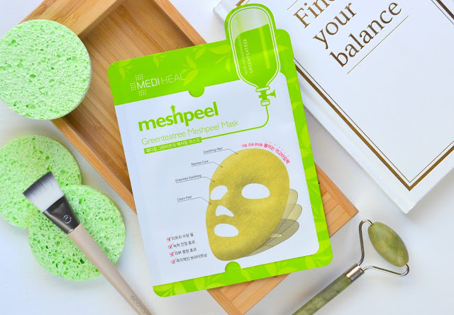 Mediheal Greenteatree Meshpeel Mask Review