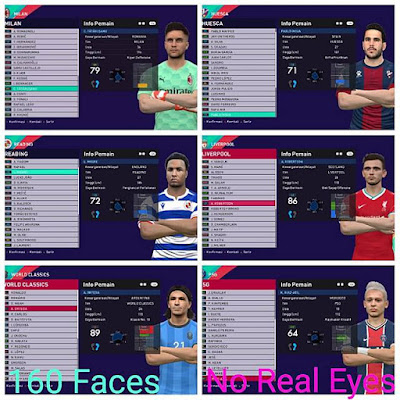 Additions Mega Facepack T99 Patch V5 (860+ Faces)