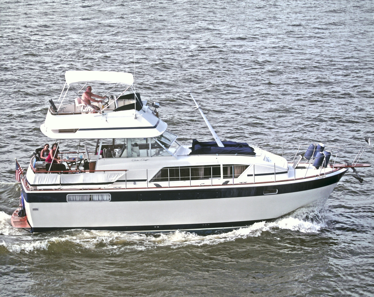 Texoma Chris Craft: Classic 1979 Chris Craft Commander For Sale