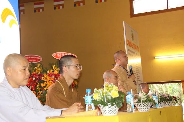 Hơn 1000 trại sinh tham dự lễ khai mạc Hội trại Tuổi trẻ Phật giáo Hệ phái Vĩnh Nghiêm lần 3 với chủ đề 'Về Nguồn' - Ảnh 5