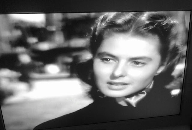 frame of Ingrid Bergman from Notorious (1946)