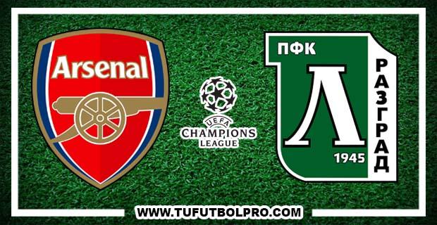 Ver Arsenal vs Ludogorets EN VIVO Gratis Por Internet Hoy 19 de Octubre 2016