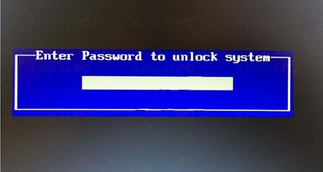 Password BIOS