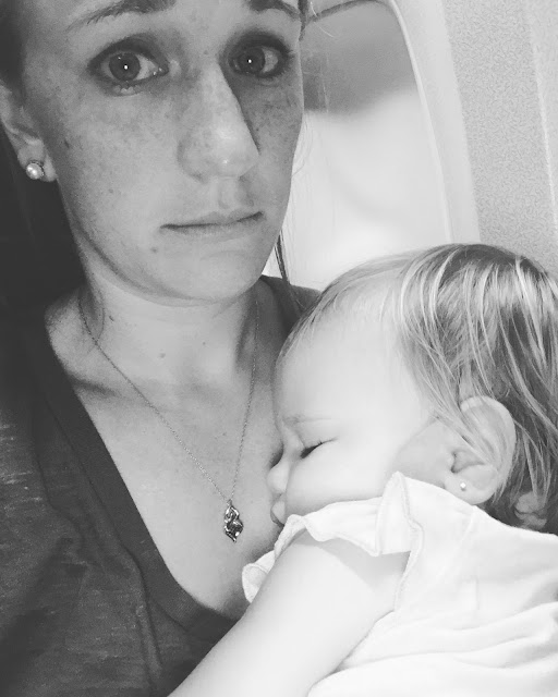 some flights are hard with a lap toddler