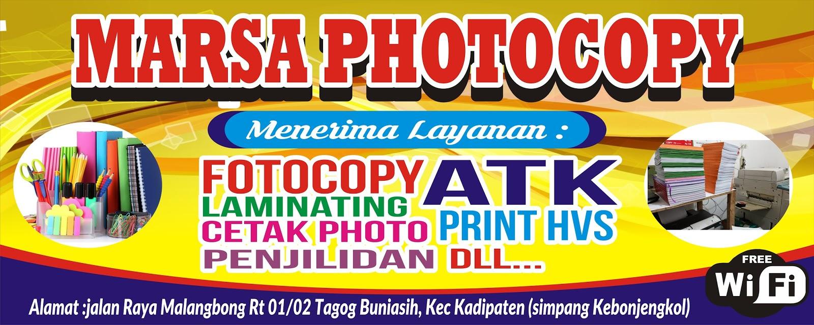 Download Contoh Spanduk Fotocopy. cdr - KARYAKU