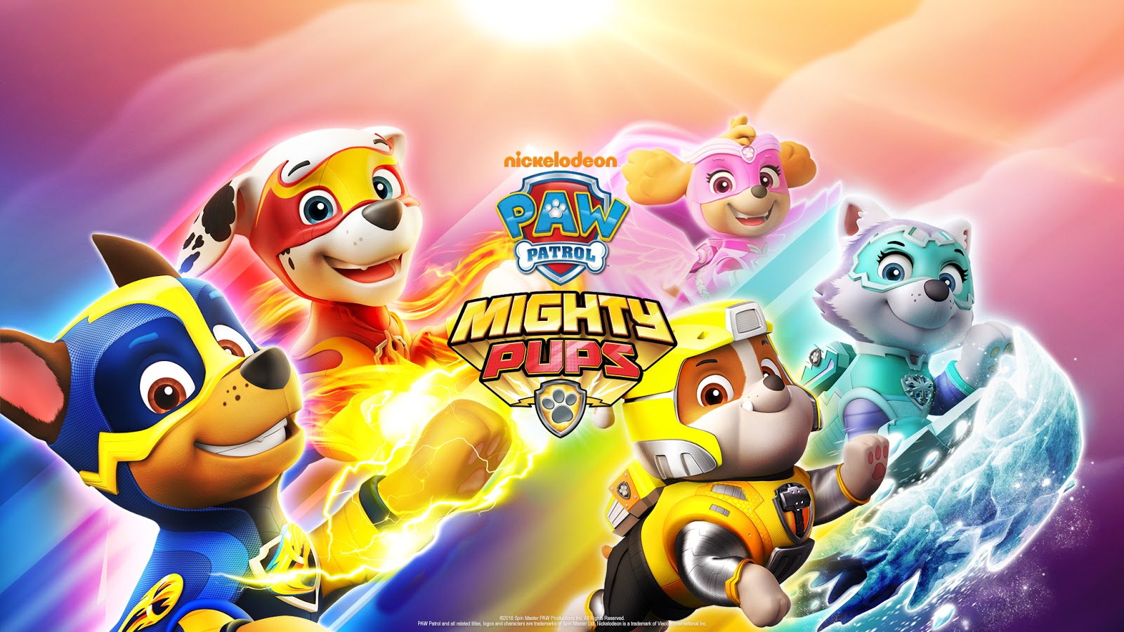 Nickalive Nickelodeon To Release New Paw Patrol Mighty