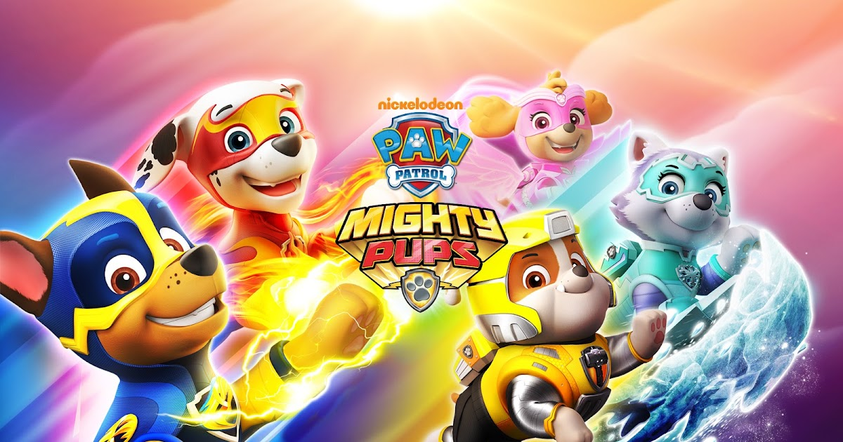 nickalive! nickelodeon to release new 'paw patrol mighty