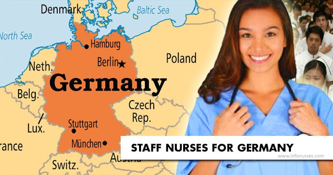 Staff nurses for Germany, salary at P174,000 monthly