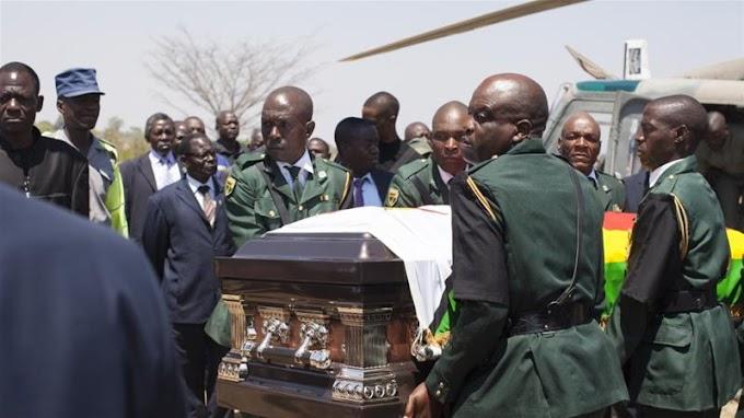 Zimbabwe : An Binne Mugabe A Mahaifarsa