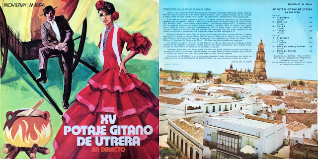"MIGUEL EL FUNI, PEDRO PEÑA ""XV POTAJE GITANO DE UTRERA"" – MOVIEPLAY 1971"