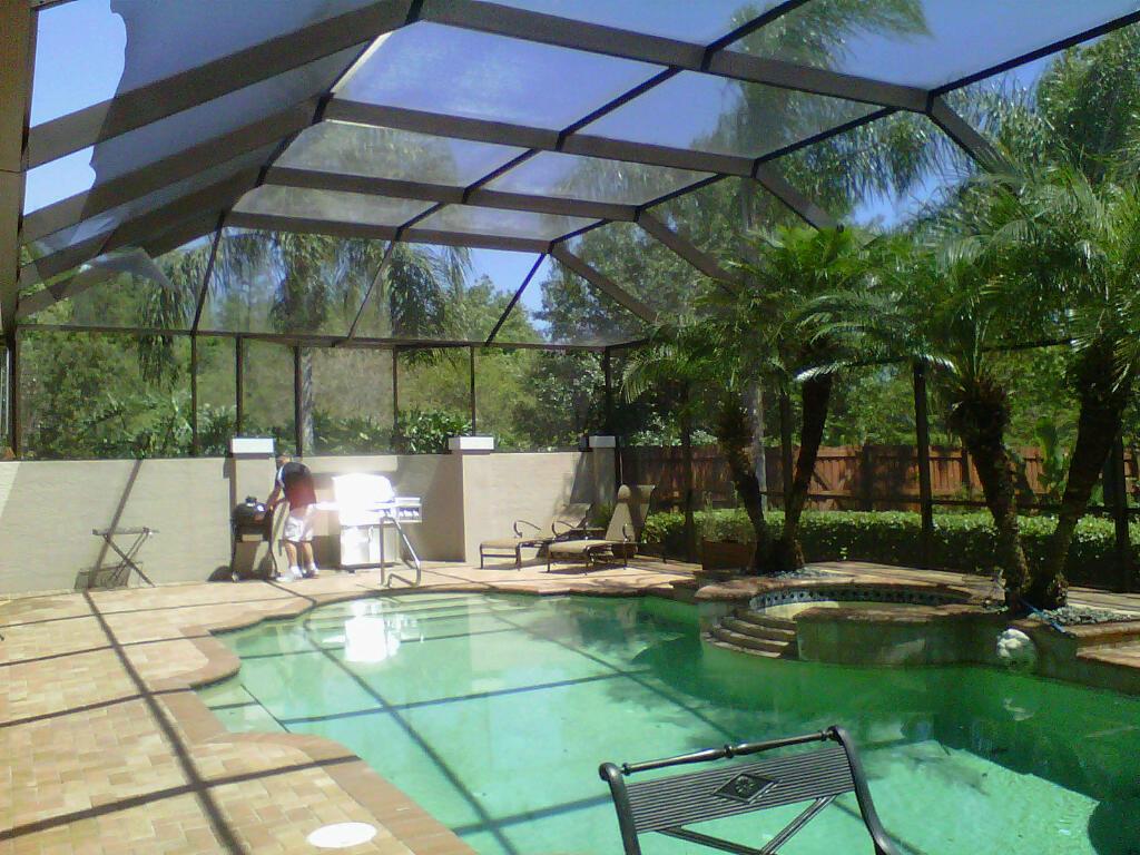 Painting Tampa Bay Pool Enclosure Painting Tarpon Springs