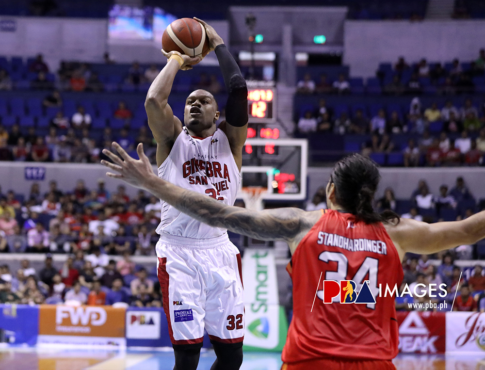 Another monster performance for Justin Brownlee