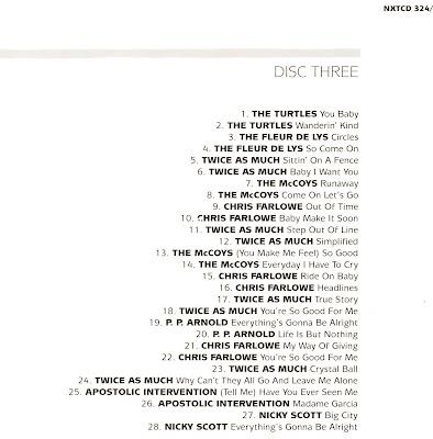 VA The Immediate Singles Collection (1966-69) (UK) 6 Disc Box Set (CD 3)