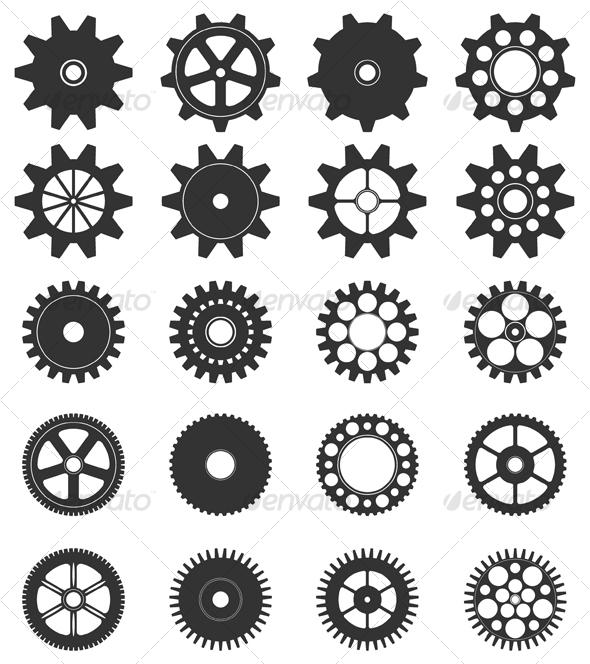 gears cogs free illustrator - photo #18