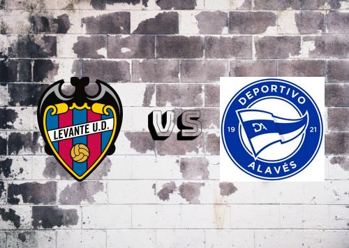 Levante vs Deportivo Alavés  Resumen
