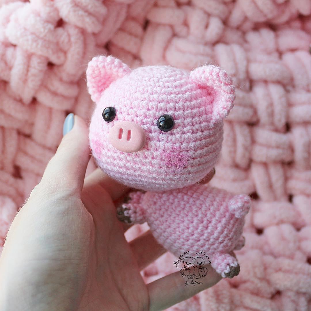 Free Crochet Patterns – Year Of The Pig – Crochet | 1080x1080