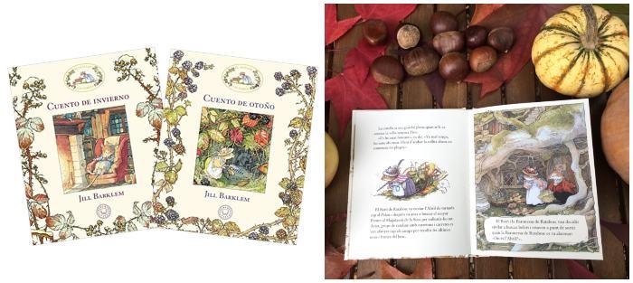 mejores cuentos libros infantiles de 5 a 8 cuento otoño invierno seto zarzas