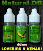 Vitamin Burung Lovebird Natural OB