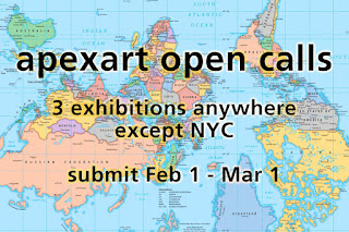 OPEN CALL: apexart International Open Call 2018-19