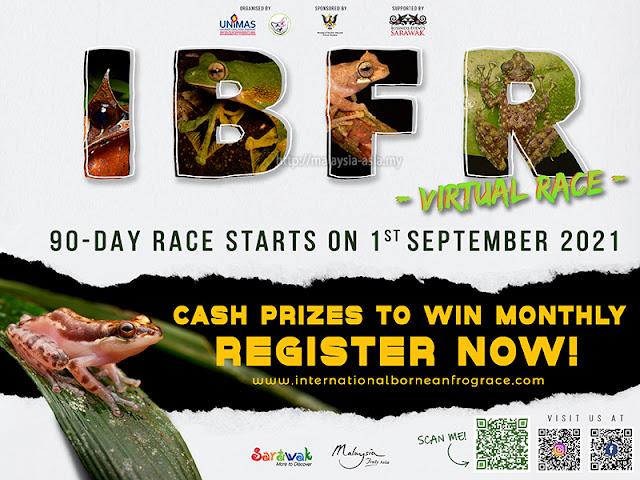Borneo Frog Race 2021