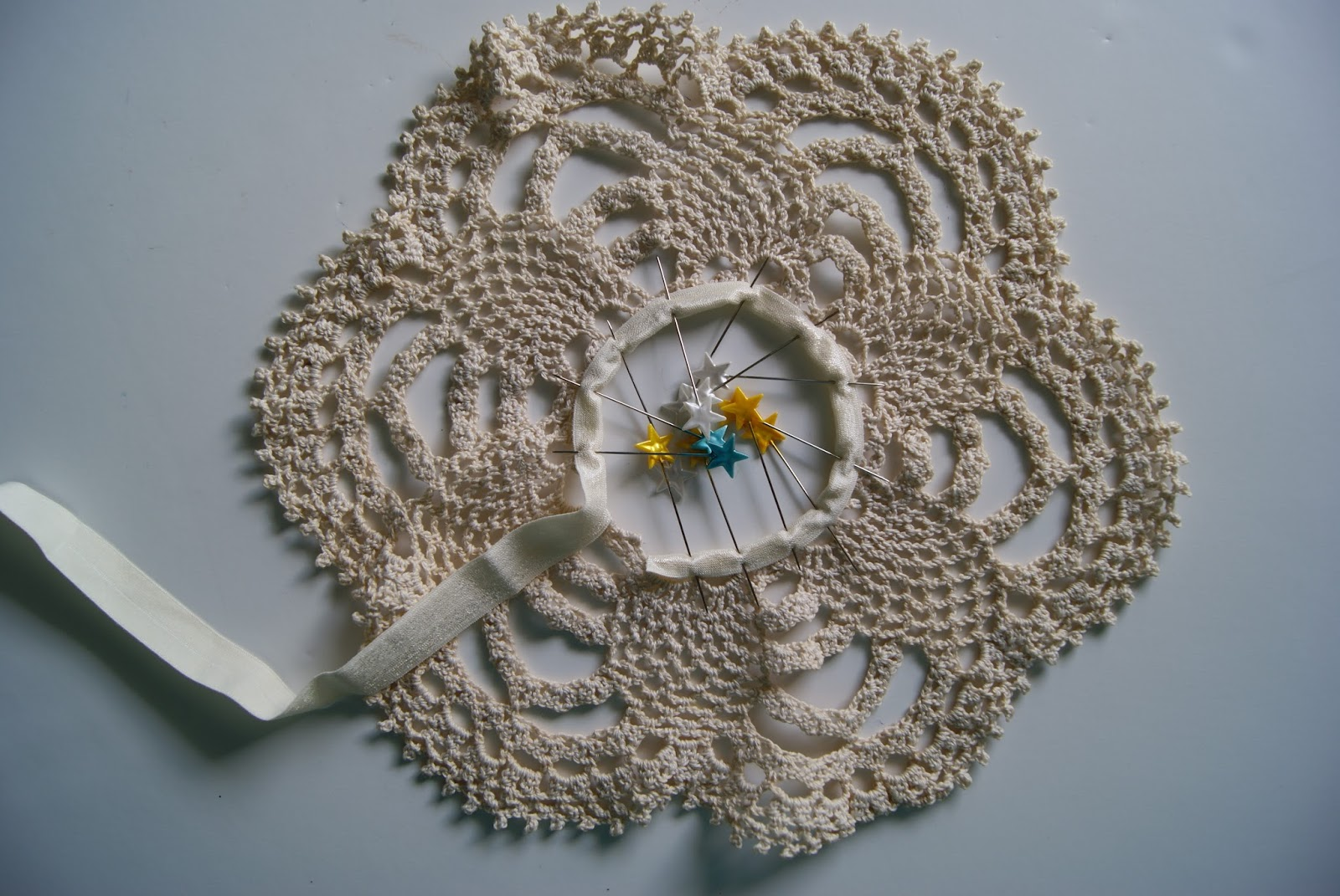 Doily Circle Skirt For 18 Inch Doll By Nest Full Of Eggs