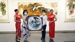 陳俗蓉水墨畫展登場 盧市長邀民眾前來感受空靈水墨世界