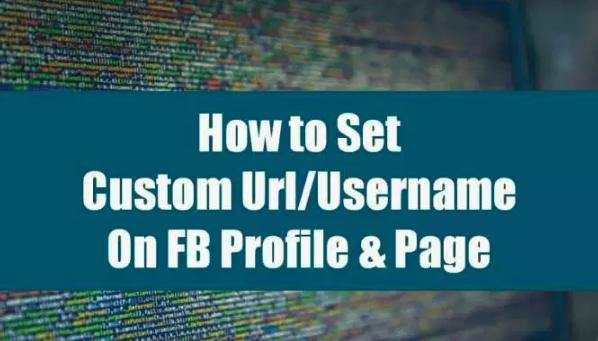 Change Facebook's Custom URL ..!! Follows Just A Few Steps...!!
