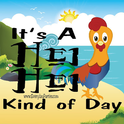"Sometimes, it's just one of those days where you are like Hei Hei from Moana and everything is just slightly ""off.""  Warn your friends and family, and enjoy it with this Hei Hei Kind of Day printable available in 8 different sizes! #moana #printablequote #quote #diypartymomblog"
