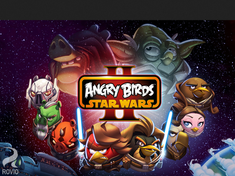 Best Offline Android Game - Angry Birds Star Wars 2