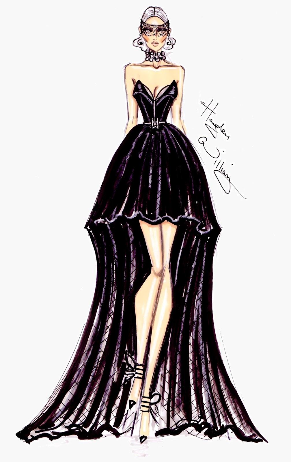 Hayden Williams Fashion Illustrations: January 2013