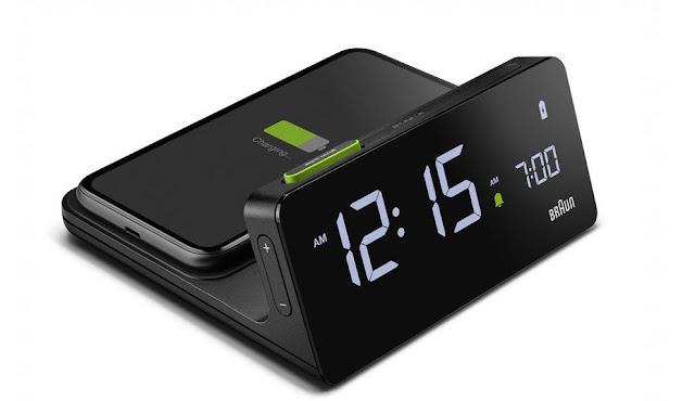 Braun BC21 Wireless Charging Alarm Clock