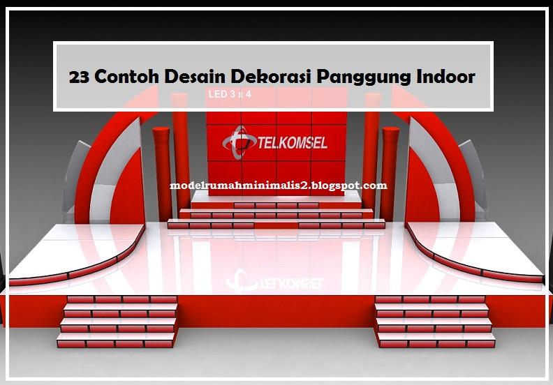 23 Contoh Desain Dekorasi Panggung Indoor - Model Desain ...