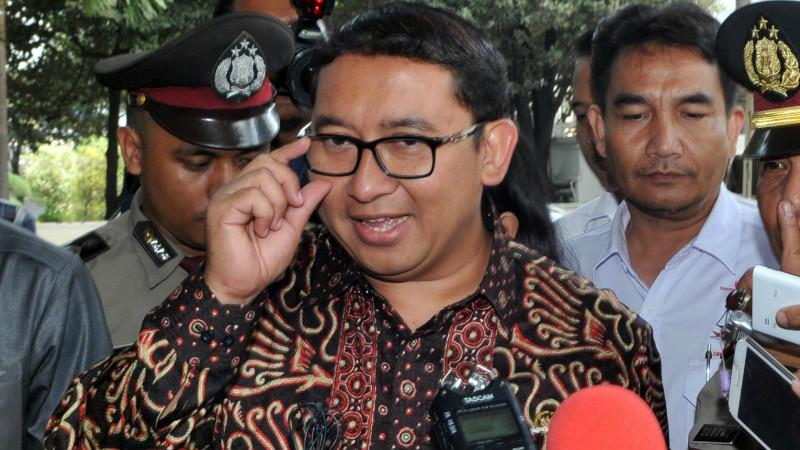 Wakil Ketua DPR RI, Fadli Zon mendatangi KPK