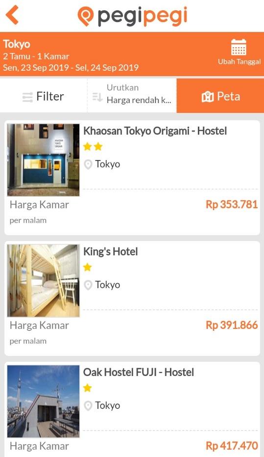 hotel murah tokyo