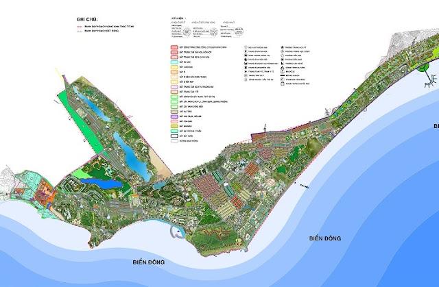 quy hoạch đất ven biển hòa phú hòa thắng