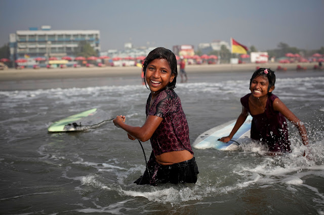 Allison Joyce surfing photography Bangladesh
