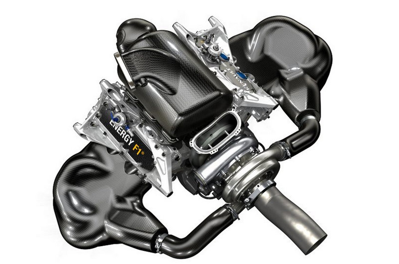 renault unveils 2014 hybrid v6 turbo formula 1 engine electric vehicle news. Black Bedroom Furniture Sets. Home Design Ideas