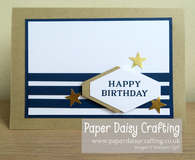 Birthday Card for males Stampin Up