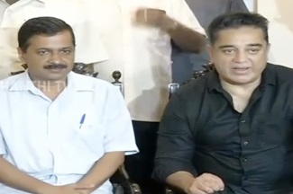 """Kamal should enter into Politics"" – Delhi CM Arvind Kejriwal 