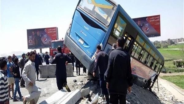 عاجل.. إصابة 22 شخصا في حادث ضخم بالإسكندرية