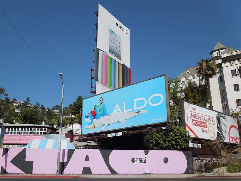 Aldo Sunset Strip billboard