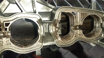 BMW чистый впускной коллектор