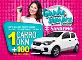 Cadastrar Promoção Sanremo Ganhe Sempre Prêmio Todo Dia 2018