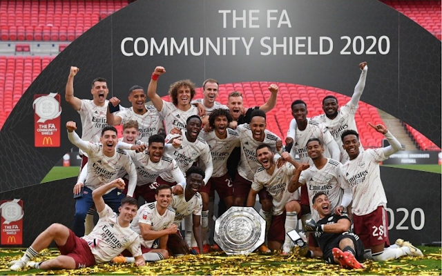 Arsenal Juara Community Shield 2020/2021