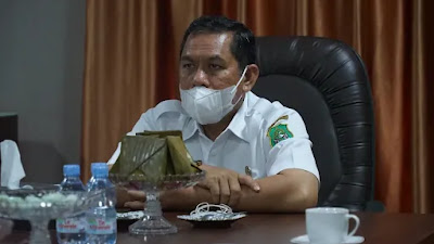 Mahmud Yusuf: Ikuti Pengarahan Virtual Presiden Tentang Pengendalian Penyebaran Covid-19
