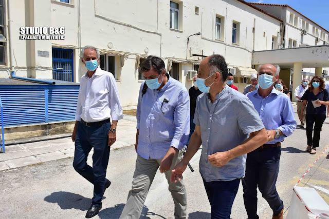 Τι διαπίστωσε το κλιμάκιο του Τμήματος Υγείας του ΣΥΡΙΖΑ στην περιοδεία του σε δομές υγείας της Αργολίδας