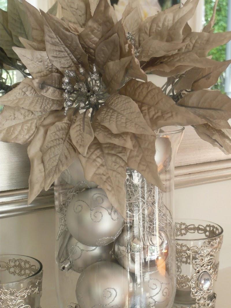 Lee Caroline A World Of Inspiration Countdown To Christmas Christmas Mantelpiece Silver