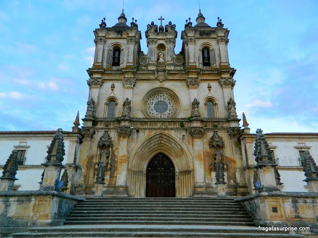 Fachada do Mosteiro de Alcobaça
