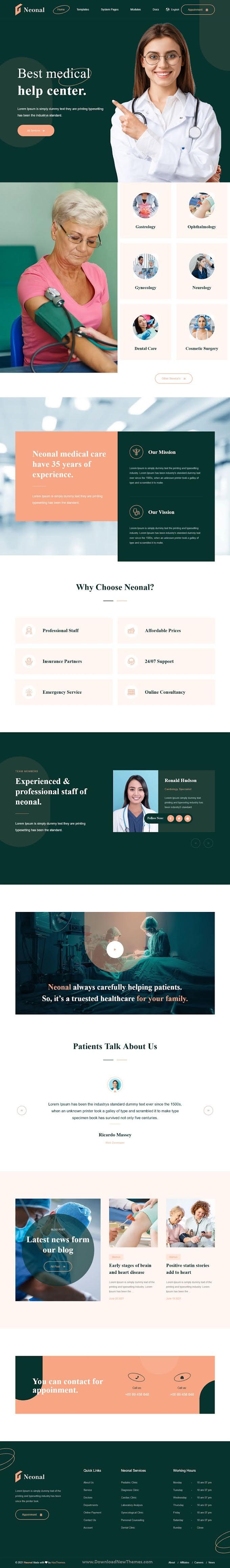 Best Medical Service HubSpot Theme